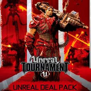 Unreal Deal Pack (incl. UT99 GOTY, UT2004, UT3, Unreal Gold and Unreal 2) - £1.72 at GamersGate (PC / Steam key)