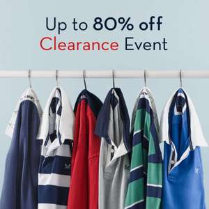 Crew Clothing - Up To 80% Off Clearance Events - Locations & Dates In Post