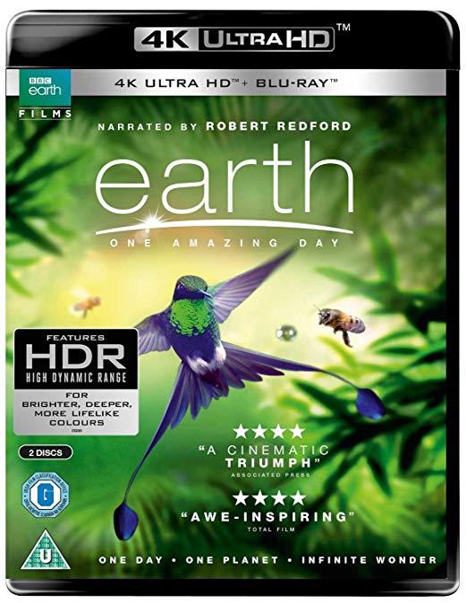 Earth - One Amazing Day UHD [Blu-ray] [2018] £10.39 @ Amazon (+£2.99 non-prime)
