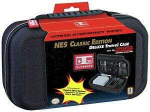 NES/SNES Console Hard Shell Carry Case £13/ Nintendo SNES Classic Deluxe Console Case £13.99 delivered at Argos/ebay