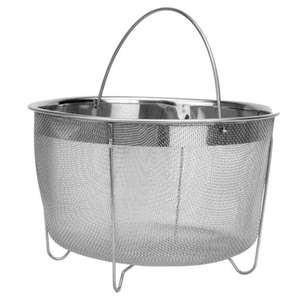 Maison & White Stainless Steel Steamer Basket £5.99 + Free Delivery using code @ Roov