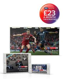 Sky Sports for £23 a month (No Contract) at Sky Sports
