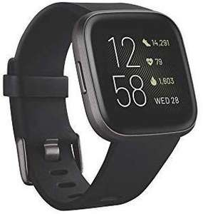 Fitbit Versa 2 Health & Fitness Smartwatch + Free 90 Days Amazon Music Unlimited £140.37 @ Amazon