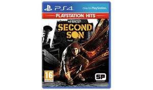 inFAMOUS Second Son PS4 Hits Game £9.99 at Argos