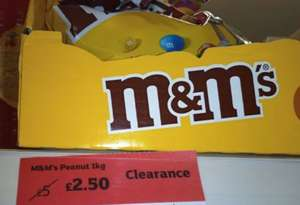 M&Ms 1KG @ Sainsburys Cromwell Road London