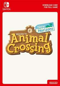 Animal Crossing New Horizons for Nintendo Switch - Download £36.85 @ ShopTo