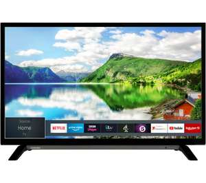 """TOSHIBA 32WL2A63DB 32"""" Smart HD Ready LED TV £160 delivered at Currys"""
