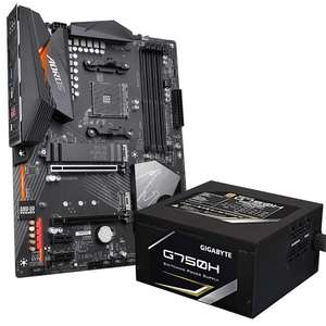 Gigabyte X570 Aorus Elite AM4 Motherboard + Gigabyte G750H 750W Semi Modular PSU (80 Plus Gold) £189.99 Delivered @ AWD-IT