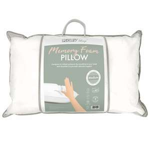 Kally Soft Or Medium Firm Memory Foam Pillows - £14.99 Each + Free Delivery Using Code @ Kally Sleep
