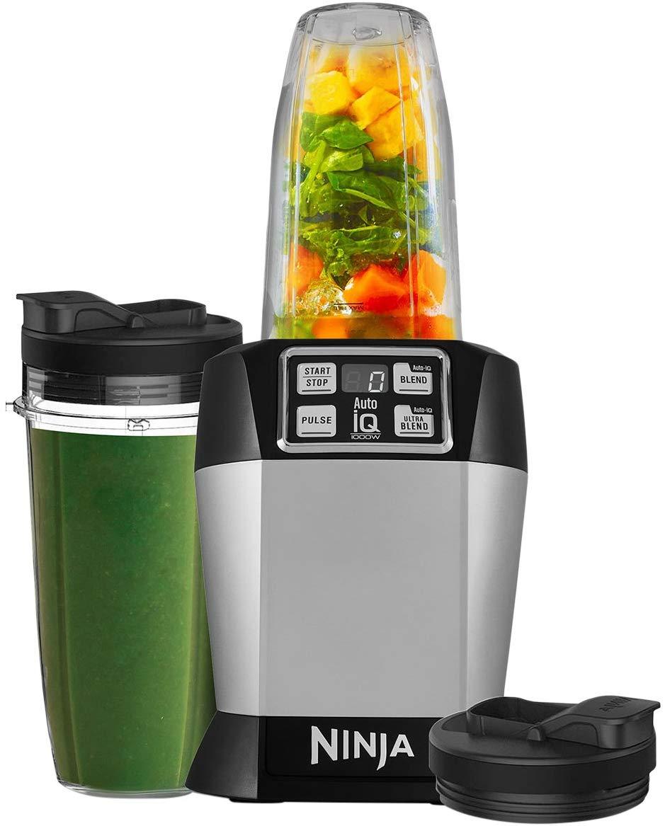 Ninja Blender [BL480UK] Single Serve, Auto-iQ. 1000 W £65.99 at Amazon