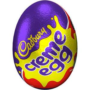 Single Cadbury Creme Egg 40g - 35p @ Sainsburys