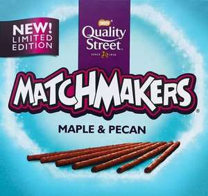 Gingerbread and Maple & Pecan matchmakers down to 10p in Tesco's Inverurie
