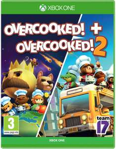 Overcooked! + Overcooked! 2 (Xbox One) - £14.99 (Prime) / £19.48 (Non Prime) delivered @ Amazon