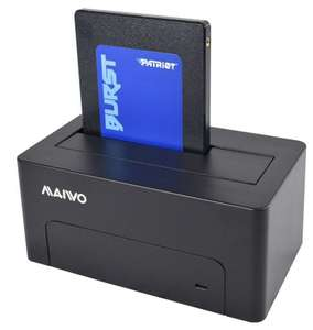 MAIWO USB 3.0 to SATA 2.5''&3.5'' HDD/SSD Single Bay Hard Drive Docking Station - £12.99 at 7dayshop/eBay