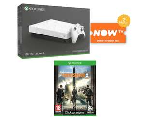 1TB Xbox One X Hyperspace Edition with + The Division 2 and NOW TV £299 @ Game
