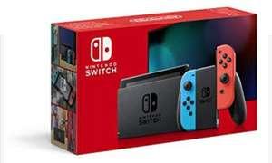 Nintendo Switch v1.1 (longer battery life) £254.56 / £247.84 with a fee free card at Amazon.fr
