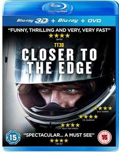 TT3D: Closer To The Edge (Blu-ray 3D + Blu-ray + DVD) [Pre-owned] - 50p In-Store / £2 Delivered @ CeX