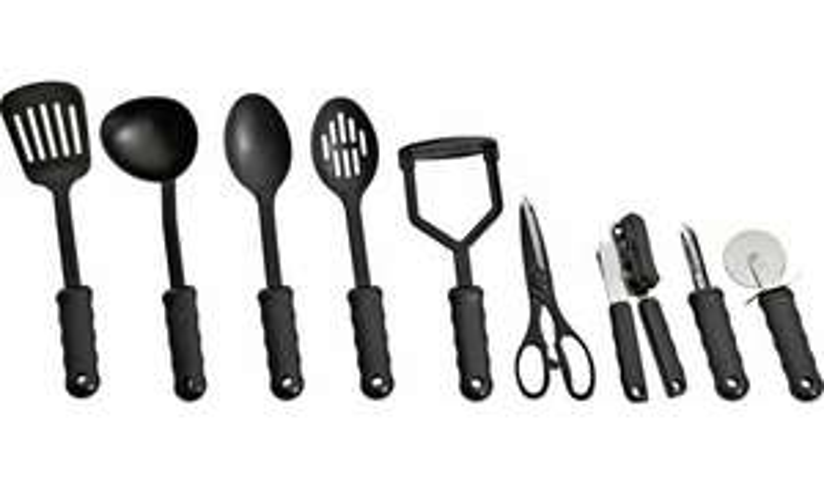 9 Piece Suregrip Kitchen Utensil Set - £6.66 Free Click & Collect @ Argos