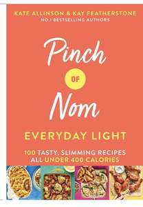 Pinch of Nom 2nd Book £5 + £2.95 delivery at Book People
