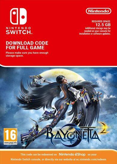 Bayonetta 2 (Nintendo Switch) eShop Key EUROPE £31.56 with code at Eneba
