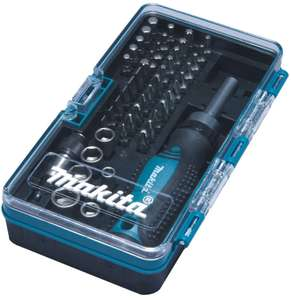 Makita B-36170 **47 Piece** Ratchet Screwdriver and Bit Set - 1/4 Hex Shank B-28612 - £18.99 delivered @ buyaparcel eBay