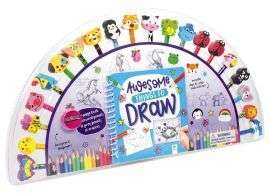 Awesome Things to Draw Pencils and Eraser Set of 20 £2 + £2.95 delivery @ Book People