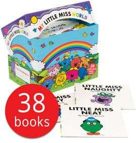 My Little Miss World Collection - 38 Books(Collection) £14 + £2.95 deliver @ The Book People