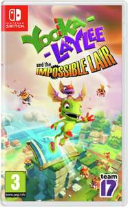Yooka Laylee and the Impossible Lair (Nintendo Switch) - £14.99 @ Argos