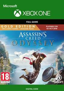 Assassin's Creed Odyssey : Gold Edition [Xbox One] Code - £22.99 @ CDekys