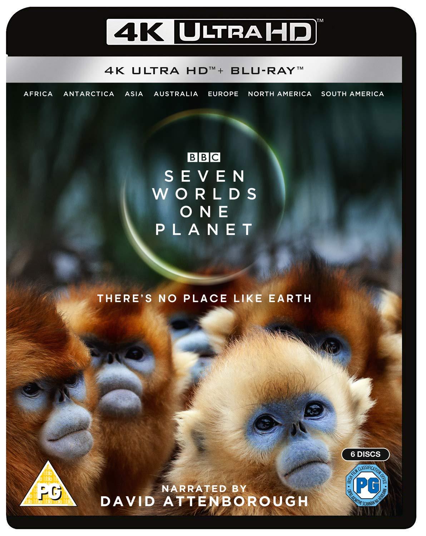 Seven Worlds One Planet 4K £23.99 Amazon