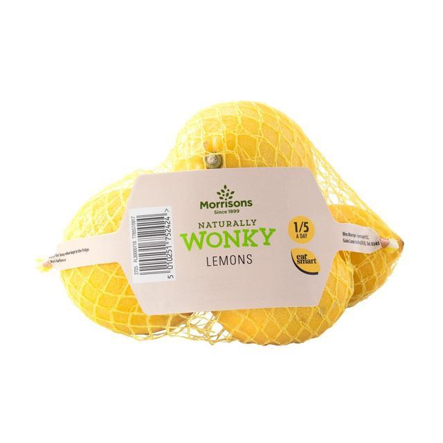 Morrisons Market St Wonky Lemons 4 per pack 69p at Morrison's
