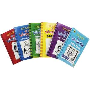 Diary of a Wimpy Kid - 6 Book Collection £10 with code (Free delivery) The Works