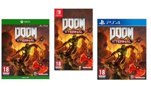 DOOM Eternal [PS4/Xbox One/Nintendo Switch] - £39.95 @ The Game Collection (Preorder 20th' MAR 2020)
