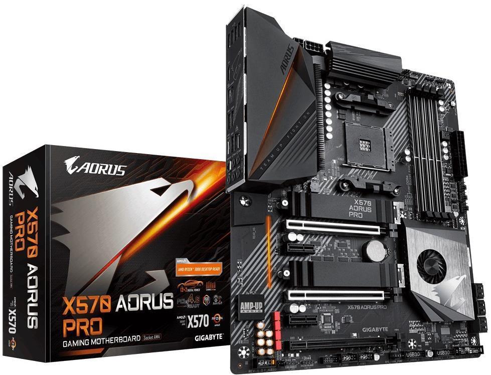 Gigabyte Aorus Pro X570 Motherboard + free 750w PSU £219.99 Box.co.uk