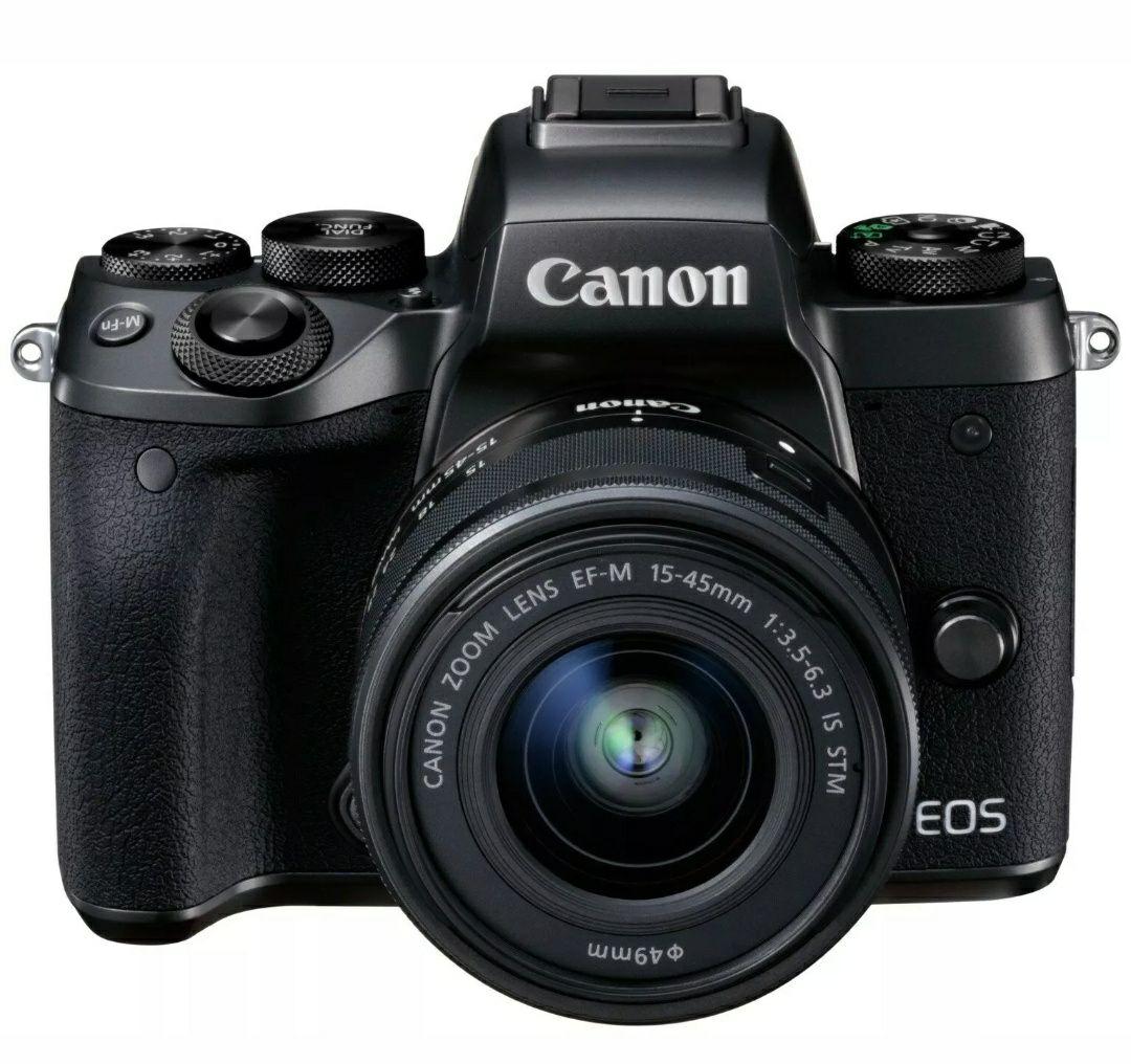 **UPDATED** Canon EOS M5 Mirrorless Camera body with 15-45mm Lens WiFi 1080p HD £447.44 w/code @ Argos eBay