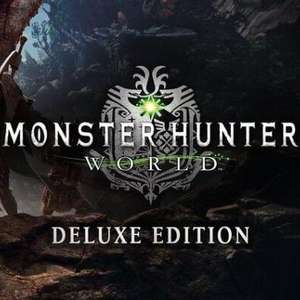 Monster Hunter: World - Digital Deluxe Edition Xbox live CD Key £6.77 Gamivo / Game home