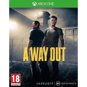 [Xbox One] A Way Out - £6.24 @ Microsoft Store