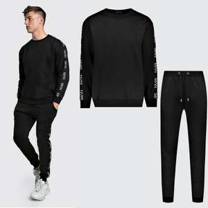 Mens Sweater Tracksuit now £12.99 delivered @ BoohooMAN + more Mens Full Tracksuits from £12.99 delivered