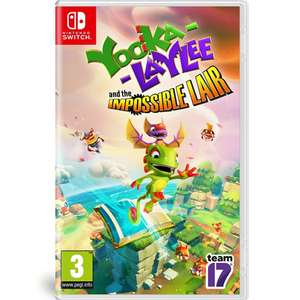 Yooka-Laylee and the Impossible Lair - Nintendo Switch - Amazon.co.uk - Prime £14.99 / Non Prime £17.98
