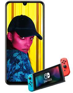 Huawei P smart 2019 1gb data £19 / 36 months 1000 minutes unlimited texts with Nintendo Switch at Virgin Media