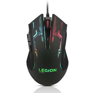 Lenovo Legion M200 RGB ambidextrous Gaming Mouse £10.99 delivered at Lenovo with code