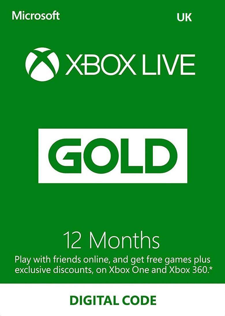 Xbox Live Gold 12 months Xbox Live Key UNITED KINGDOM £36.11 with fees @ Eneba