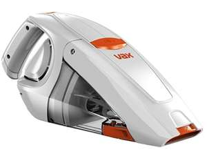 Vax Gator Cordless Handheld Vacuum Cleaner, 0.3 L - White/Orange £31.98 Amazon