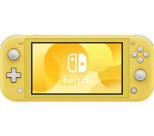 Nintendo Switch Lite - Yellow or Turquoise £160.55 @ Currys eBay