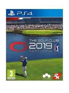 The Golf Club 2019 PS4 £9.99 at Very (plus £2 click and collect)