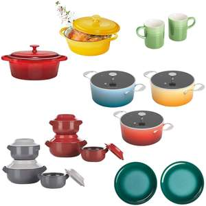 Ernesto Cookware Offer In store Only (Le Creuset Style) - Ernesto Stoneware Oven Dish £4.99 / Ernesto Insulated Bowl Set £12.99 @ Lidl