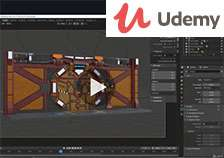 Blender 2.8 A Beginners Complete Guide To Modelling, Rigging, Animation, Lighting, Rendering, Materials & Texturing @ Udemy