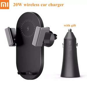 20W Wireless Fast Car Charger + Free Car Charger - For All Wireless Charging Smartphones £17.85 @ Mijia Store Store/Aliexpress