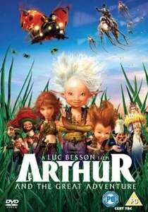 Arthur and the Great Adventure blu ray £2.39 new delivered @ Music Magpie
