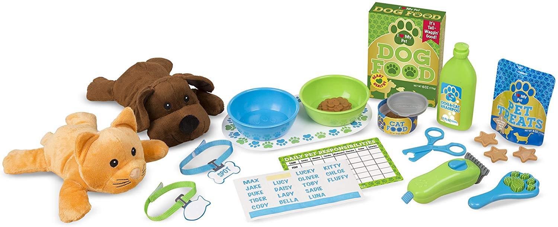 Melissa & Doug Feeding and Grooming Pet Care Play Set £12.49 Amazon Prime / £16.98 Non Prime